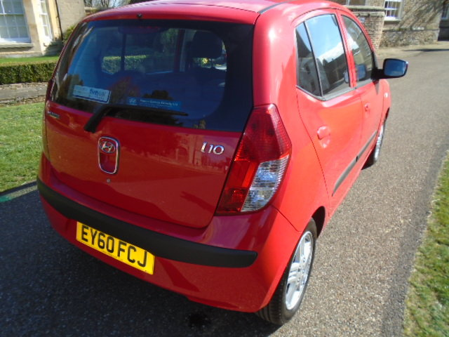 2010 Hyundai i10 5 Dr Hatch, 1248cc. Only 18555 miles!! For Sale (picture 4 of 6)