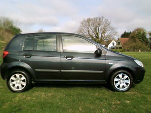 2007 hyundai getz gsi 5 door 1.5 crtd 72 mpg air con 5 speed pas