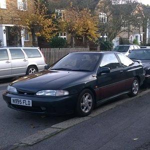 Very rare 1995 Hyundai Scoupe 1.5 auto