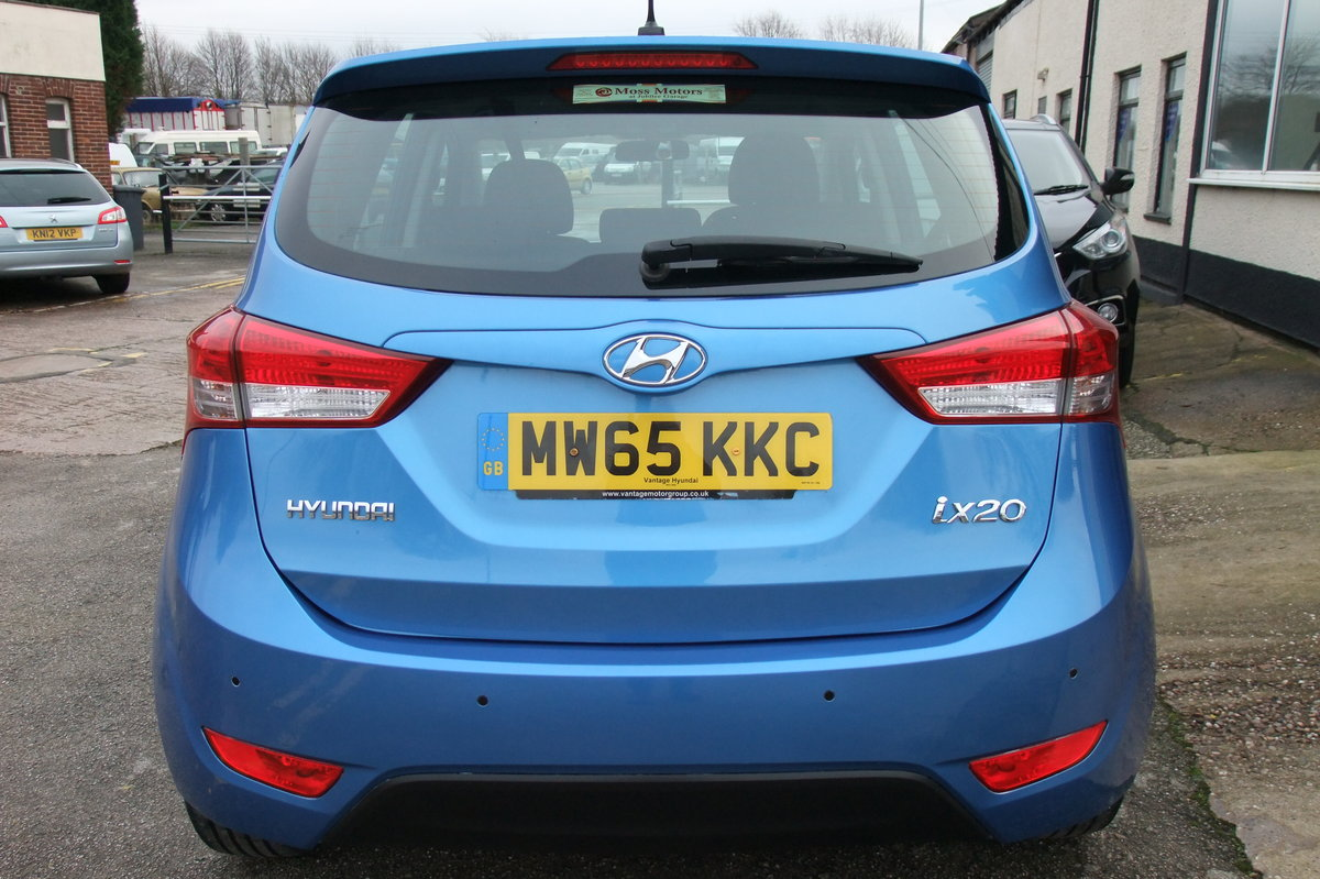 2015 HYUNDAI IX20 1.6 SE 5DR AUTOMATIC SOLD (picture 5 of 6)