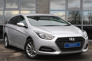 2015 65 HYUNDAI I40 1.7 CRDI BLUE DRIVE SE NAV TOURER For Sale