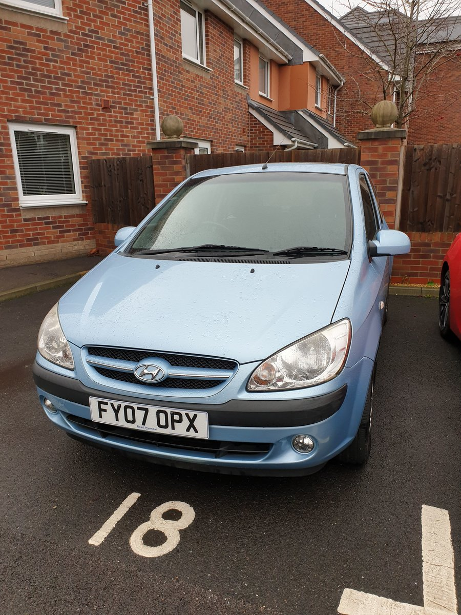 2007 Hyundai getz crtd cdx+ 3 door 1.5l diesel 110bhp For Sale (picture 1 of 5)