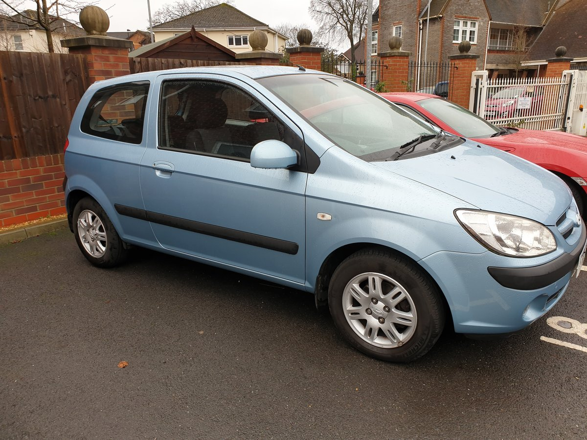 2007 Hyundai getz crtd cdx+ 3 door 1.5l diesel 110bhp For Sale (picture 2 of 5)