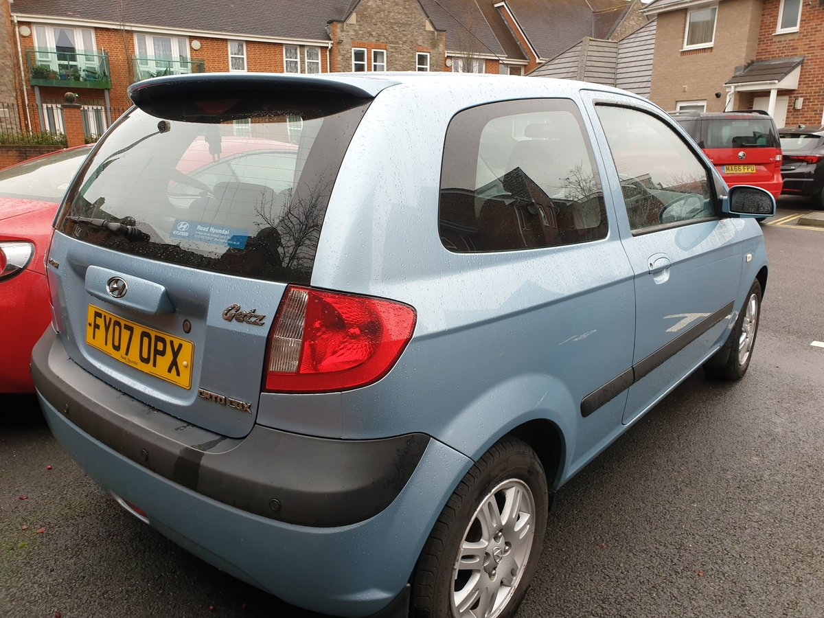 2007 Hyundai getz crtd cdx+ 3 door 1.5l diesel 110bhp For Sale (picture 3 of 5)