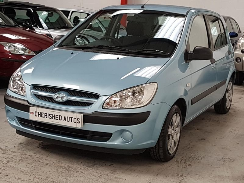 2007 BLUE HYUNDAI GETZ 1.1 GSi* GEN 45,000 MILES*STUNNING For Sale (picture 1 of 6)