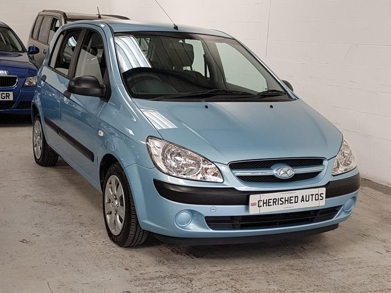 2007 BLUE HYUNDAI GETZ 1.1 GSi* GEN 45,000 MILES*STUNNING For Sale (picture 3 of 6)