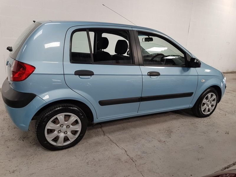 2007 BLUE HYUNDAI GETZ 1.1 GSi* GEN 45,000 MILES*STUNNING For Sale (picture 4 of 6)