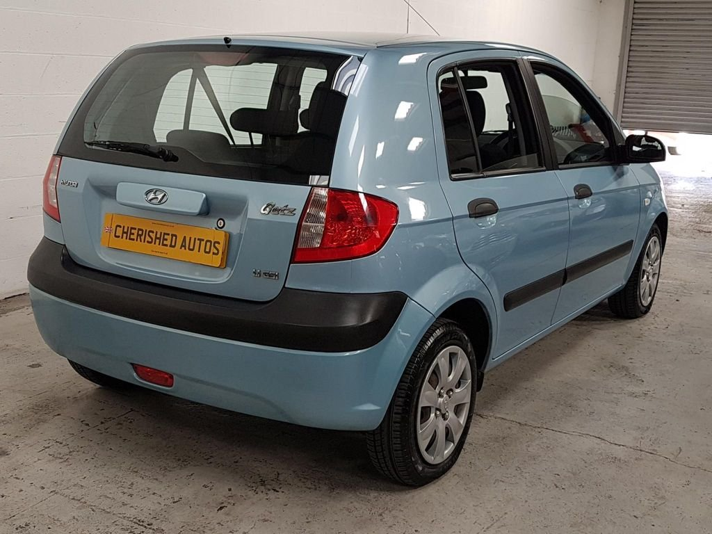 2007 BLUE HYUNDAI GETZ 1.1 GSi* GEN 45,000 MILES*STUNNING For Sale (picture 2 of 6)