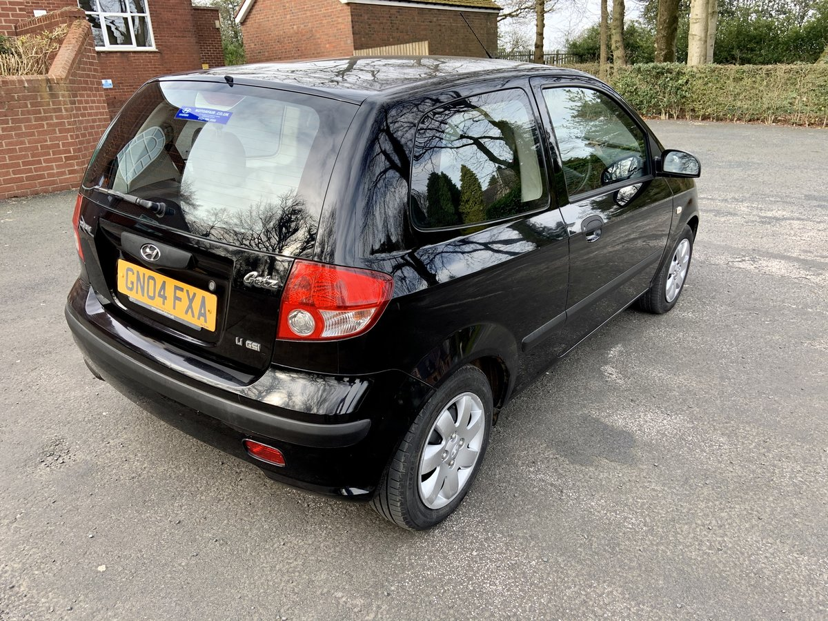 2004 Hyundai Getz 1.1 gsi Manuel petrol For Sale (picture 3 of 6)