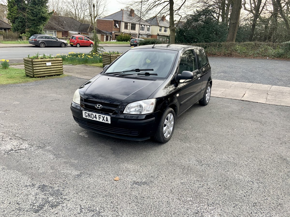 2004 Hyundai Getz 1.1 gsi Manuel petrol For Sale (picture 4 of 6)