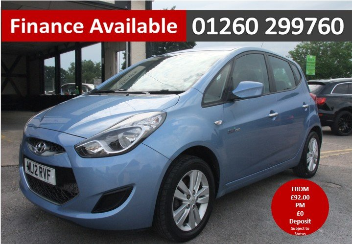 2012 HYUNDAI IX20 1.4 ACTIVE 5DR SOLD (picture 1 of 6)