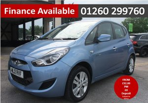 2012 HYUNDAI IX20 1.4 ACTIVE 5DR SOLD