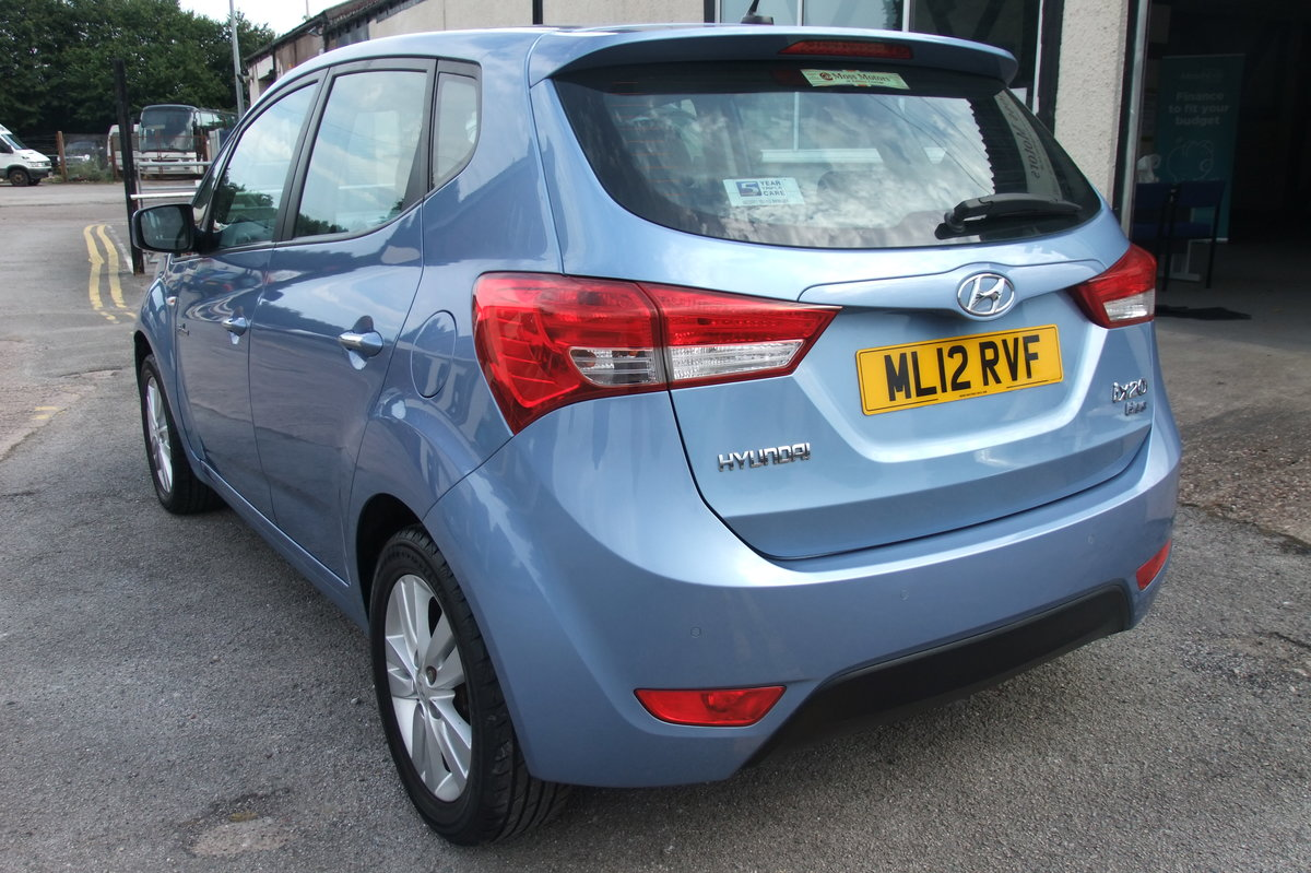 2012 HYUNDAI IX20 1.4 ACTIVE 5DR SOLD (picture 3 of 6)
