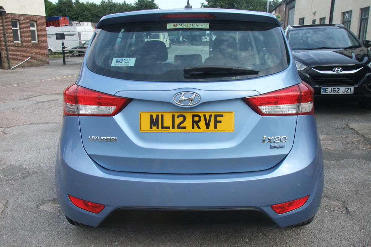 2012 HYUNDAI IX20 1.4 ACTIVE 5DR SOLD (picture 5 of 6)