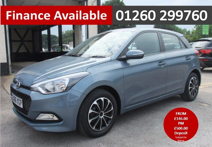 2016 HYUNDAI I20 1.2 MPI S AIR 5DR For Sale (picture 1 of 6)