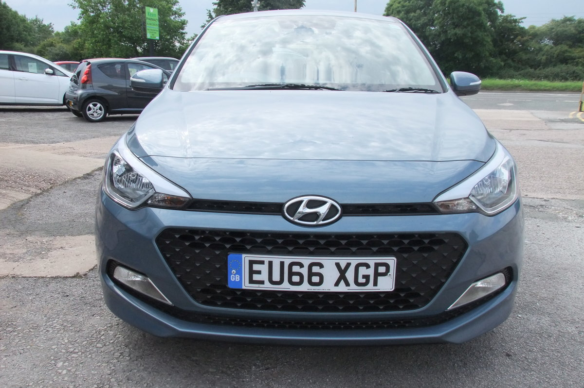 2016 HYUNDAI I20 1.2 MPI S AIR 5DR For Sale (picture 4 of 6)