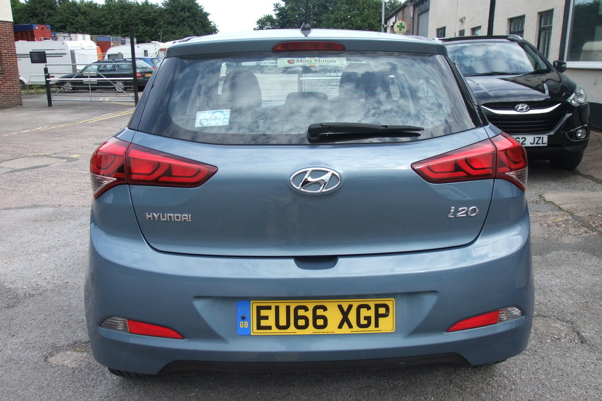 2016 HYUNDAI I20 1.2 MPI S AIR 5DR For Sale (picture 5 of 6)