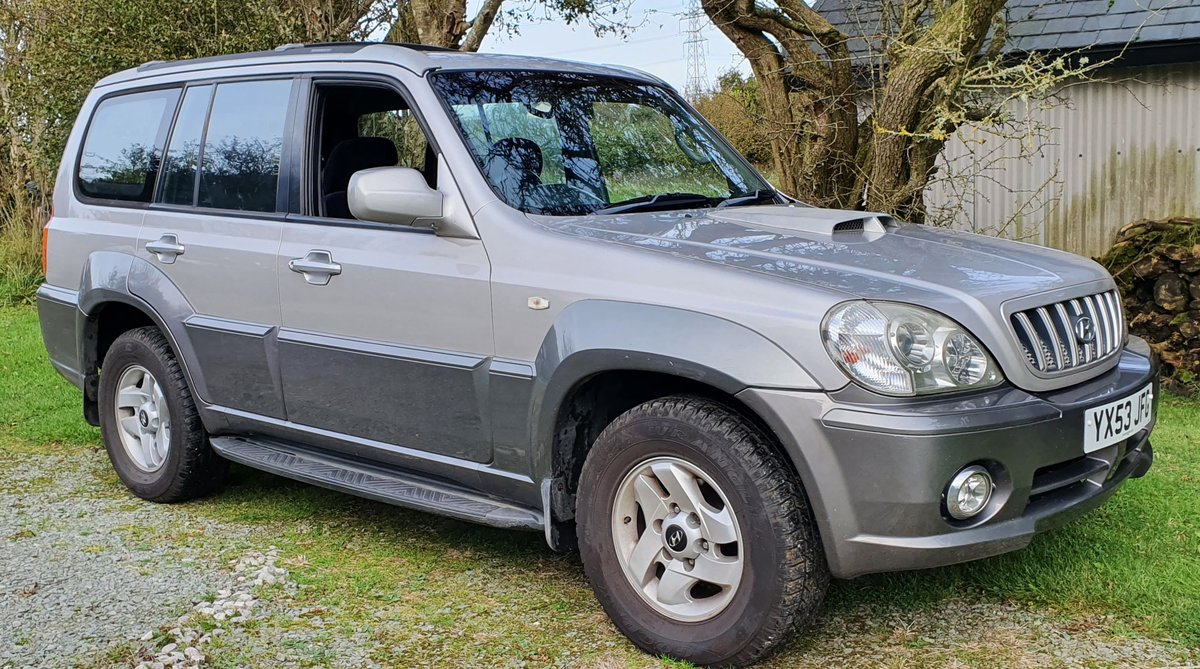 2004 04 Hyundai Terracan 2.9 CRTD 65k FSH inc cambelt Aug mot SOLD (picture 1 of 6)