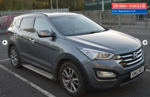 Picture of 2012 Hyundai Santa Fe Premium 77,922 Miles for auction 25th For Sale by Auction