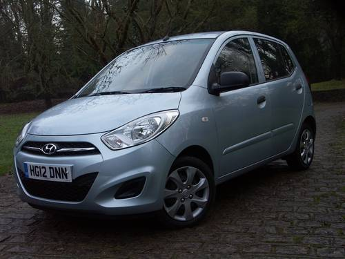 2012 Hyundai  i10  Classic SOLD (picture 1 of 6)