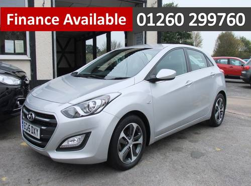 2015 HYUNDAI I30 1.6 SE 5DR AUTOMATIC SOLD (picture 1 of 6)
