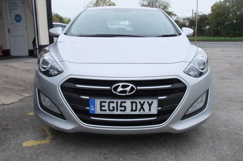 2015 HYUNDAI I30 1.6 SE 5DR AUTOMATIC SOLD (picture 4 of 6)