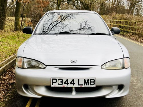 1996 Hyundai Accent Coupe 1.3, only 30,000 Miles, March 2019 MOT! For Sale (picture 4 of 6)