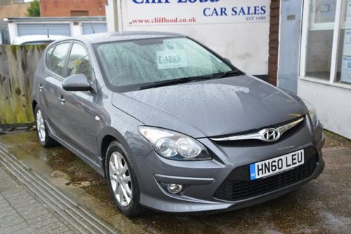 2010 60 HYUNDAI I30 1.4 Comfort 5 Door Hatchback  SOLD (picture 1 of 6)