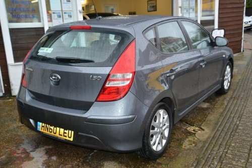 2010 60 HYUNDAI I30 1.4 Comfort 5 Door Hatchback  SOLD (picture 2 of 6)