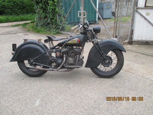 1939 indian 500cc 741 For Sale (picture 1 of 6)