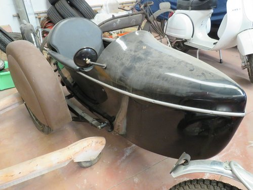 Indian sidecar from 40's  SOLD | Car And Classic