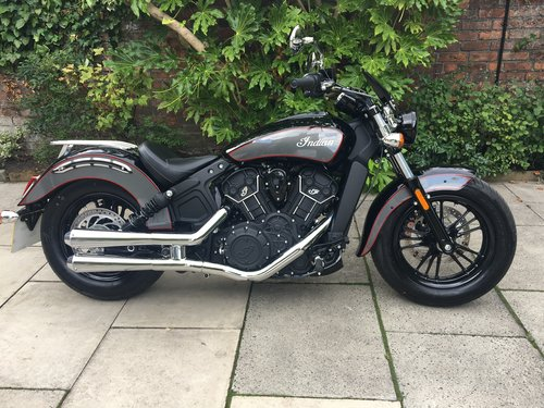 2018 Indian Scout Sixty, 770 miles, With Extras SOLD (picture 1 of 6)