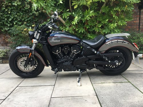 2018 Indian Scout Sixty, 770 miles, With Extras SOLD (picture 2 of 6)
