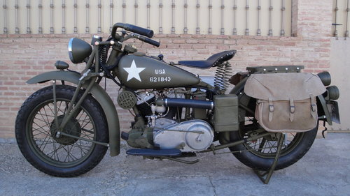 INDIAN SCOUT 741 MILITARY YEAR 1941 500cc For Sale (picture 1 of 6)