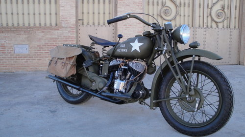 INDIAN SCOUT 741 MILITARY YEAR 1941 500cc For Sale (picture 6 of 6)
