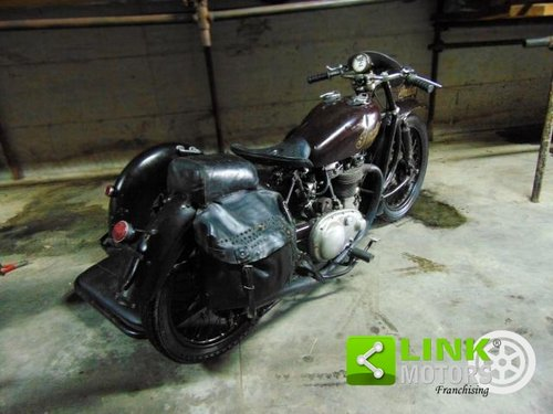 Indian Scout 440,Sidecar cross, anno 1950, perfettamente co For Sale (picture 3 of 6)