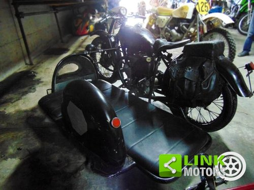 Indian Scout 440,Sidecar cross, anno 1950, perfettamente co For Sale (picture 5 of 6)