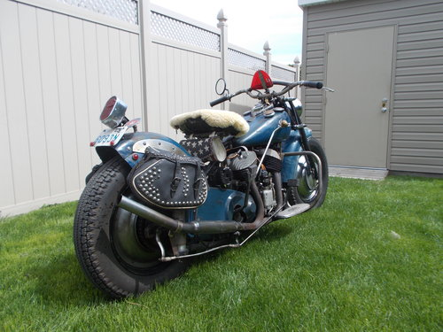 Rare 1946 Indian Bobber SOLD (picture 1 of 6)