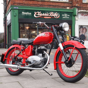 1956 Rare Indian Brave 250cc Older Restoration. For Sale