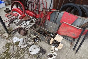 1918 Vintage Motorcycle and Sidecar for restoration