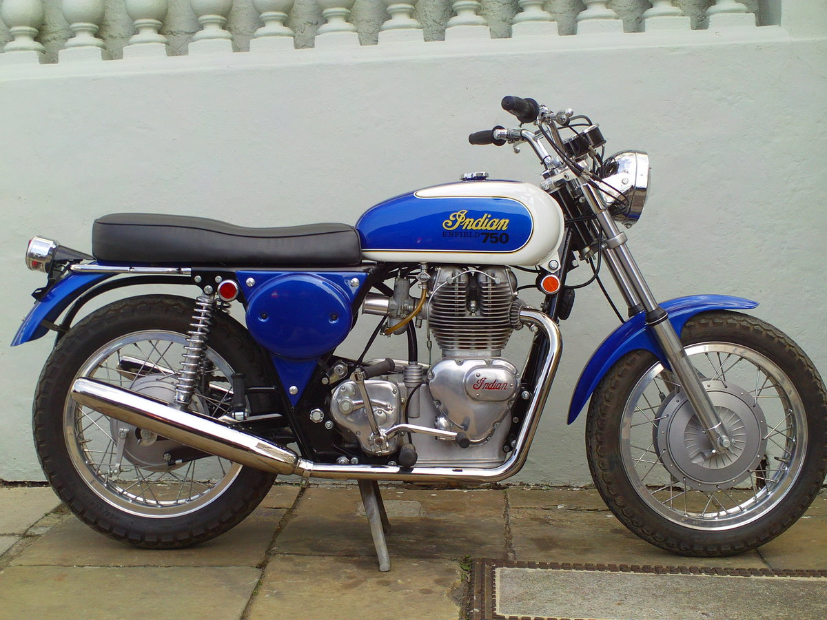 1970 INDIAN ENFIELD INTERCEPTOR 750 FLOYD CLYMER SOLD (picture 1 of 6)