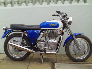 1970 INDIAN ENFIELD INTERCEPTOR 750 FLOYD CLYMER SOLD