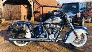 Indian CHIEF 2002- SUPER RARE- 655 EVER MADE 3000 MILES
