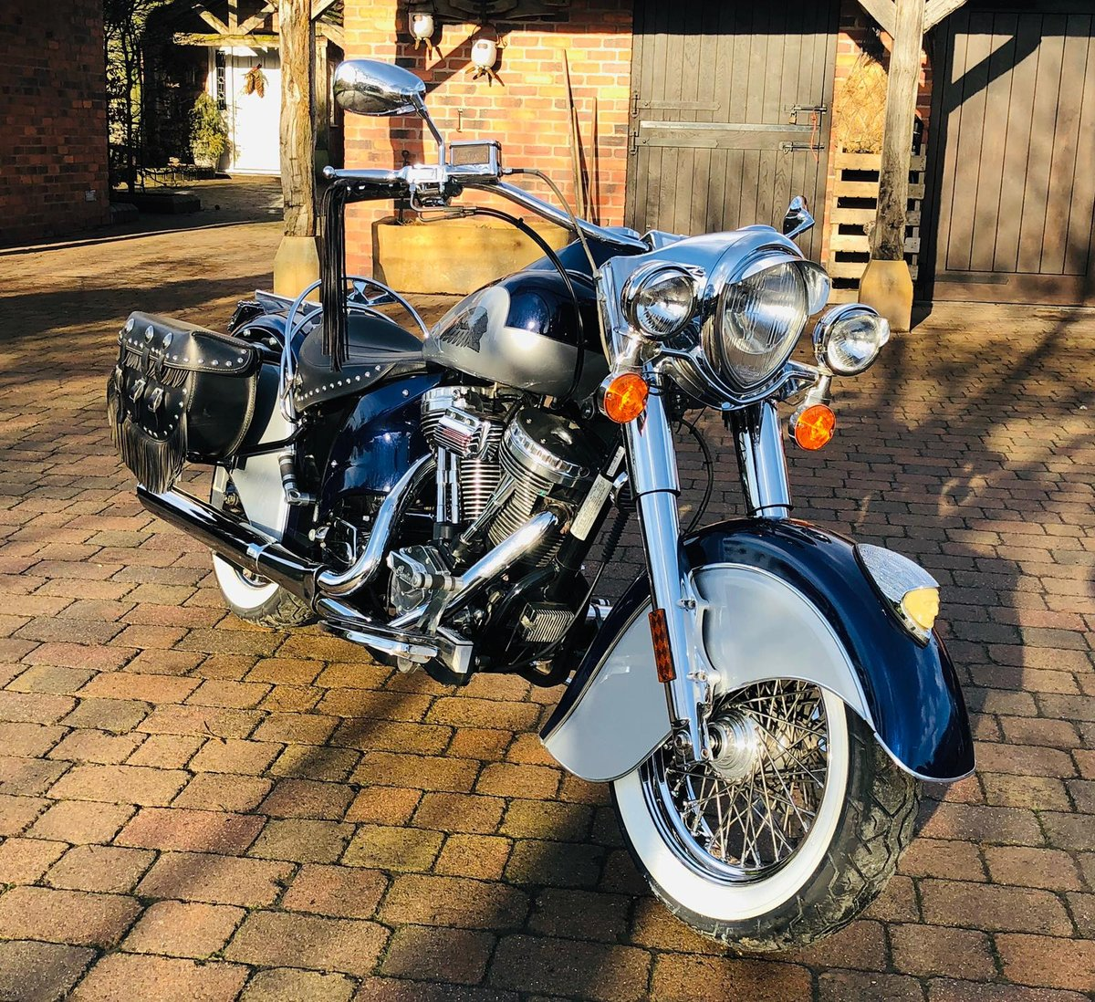 Indian CHIEF 2002- SUPER RARE- 655 EVER MADE 3000 MILES  For Sale (picture 5 of 6)