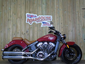 2015 Indian Scout ABS 1200cc One Owner From New Only 4300 Miles For Sale