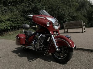 Indian Chieftain 2014 early 1901 series 3k miles
