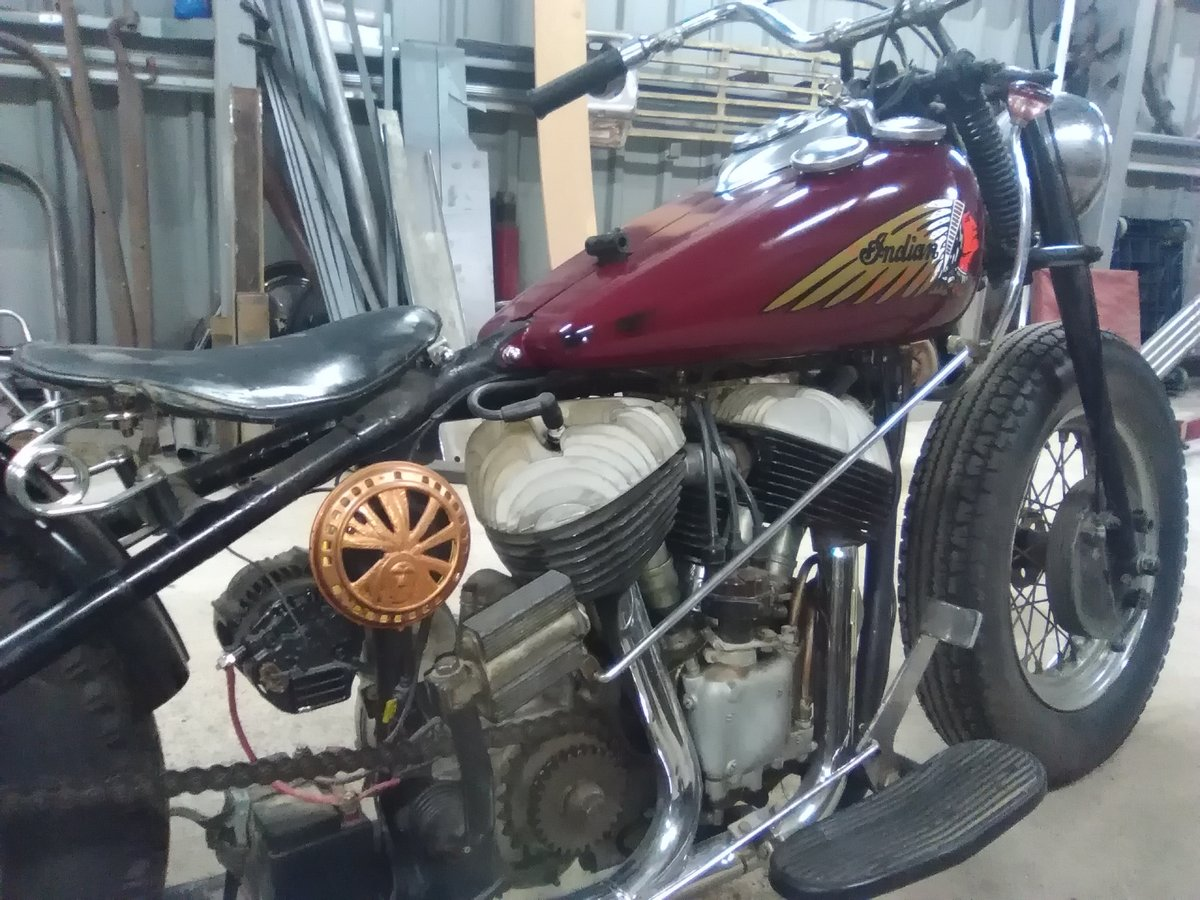 1948 Indian Chief Bobber For Sale (picture 3 of 6)