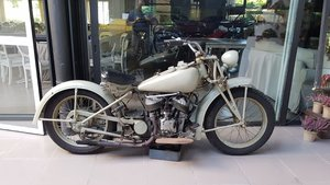 1948 Indian Socut 500cc. - engine turn