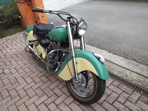 1951 Indian BIG CHIEF 1200 CC For Sale