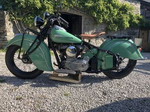 1941 Indian Chief For Sale by Auction